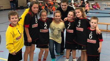 Mini-Handballer kämpften bis zum Ende