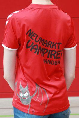 Handball Vereins T-Shirt Rückenansicht