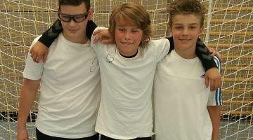 Drei Jungs setzten sich durch
