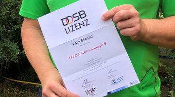 Höchste Ausbildung in Bayern erfolgreich abgeschlossen