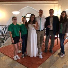 Nadine und Dennis haben geheiratet!