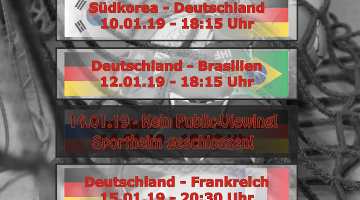 Vorrunde der Heim-WM