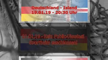 Hauptrunde der Heim-WM