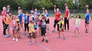 Handball beim KJR-Sommercampus